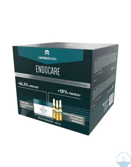 Endocare cellage firming crema regalo ampollas tensage