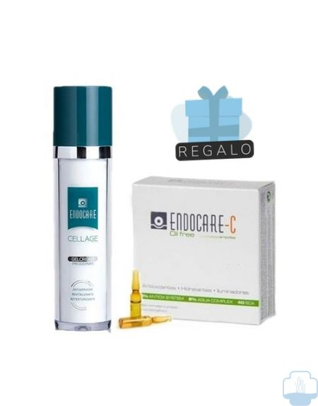 Endocare cellage gelcream antiedad 50ml + regalo ampollas