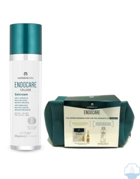 Endocare cellage gel crema regalo neceser con productos