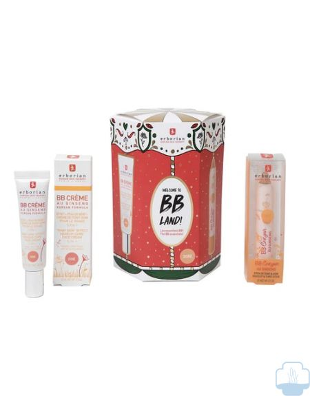 Erborian carrusel bb cream dore 15 ml + bb crayon stick 3gr