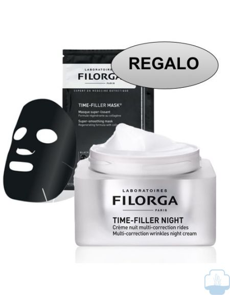 Filorga time filler night crema noche regalo mascarilla time filler
