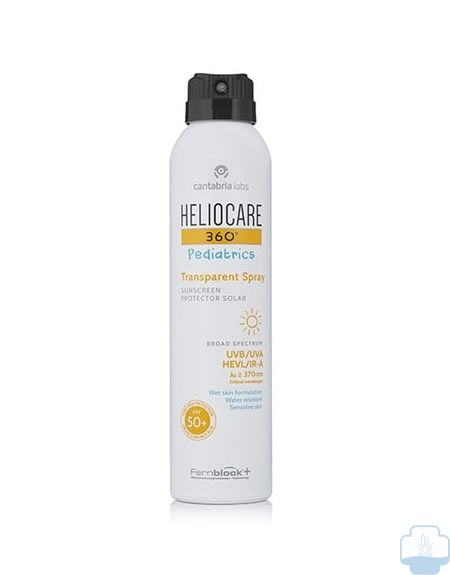 Heliocare pediatrics 360 spray transparente spf 50