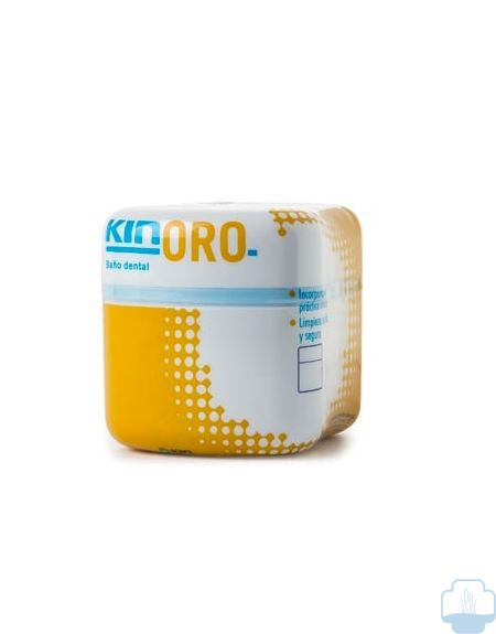 Kin oro recipiente baño dental