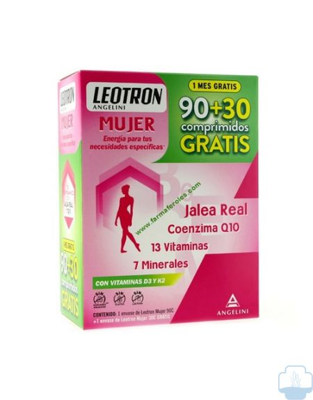 Leotron energia mujer 90 + 30