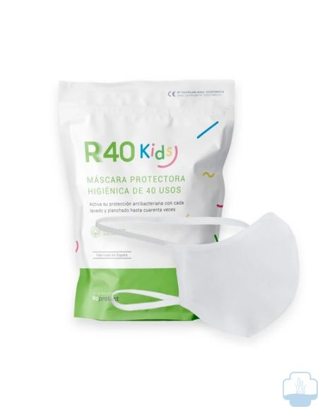 Mascarilla R40 Kids lavable junior 1 unidad