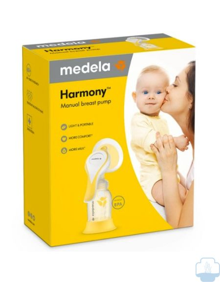 Medela Extractor Leche Manual Harmony Flex