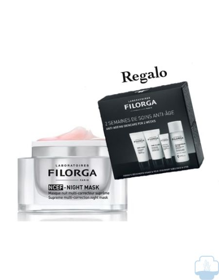 Filorga ncef noche regal kit con productos