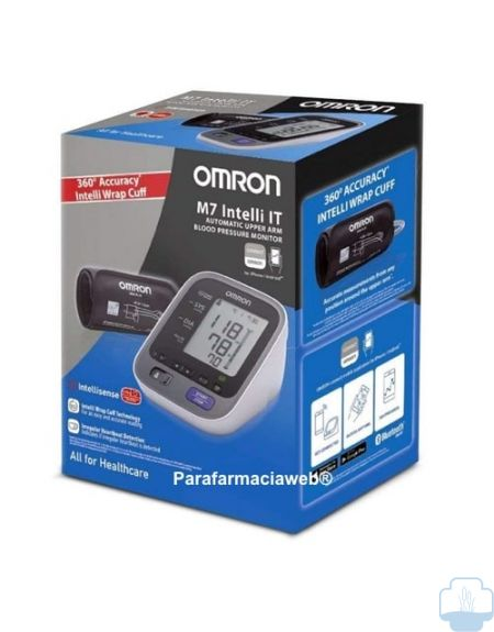 Omron tensiometro m7 manguito intelli wrap con app