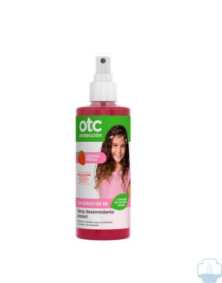Otc antipiojos spray desenredante protect fresa 250 ml