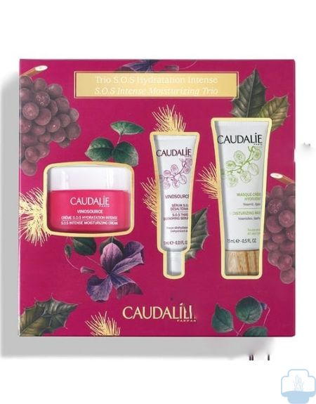 Caudalie cofre vinosource crema sos 50ml + Regalos