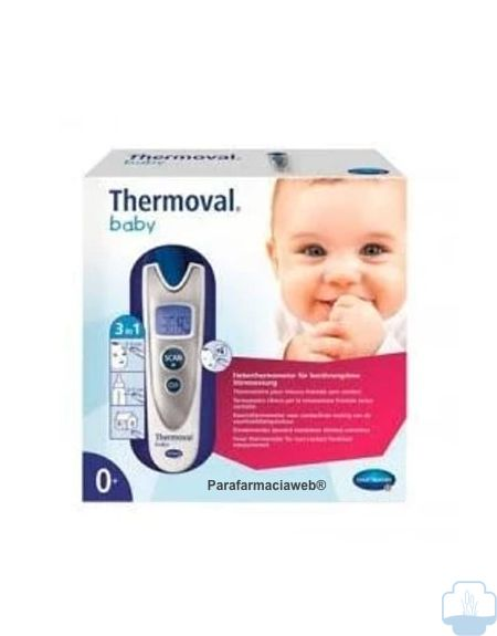 Thermoval baby termometro sin contacto 1ud