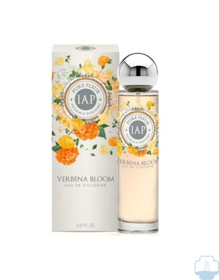 Iap pharma agua de colonia pure fleur verbena bloom 150ml
