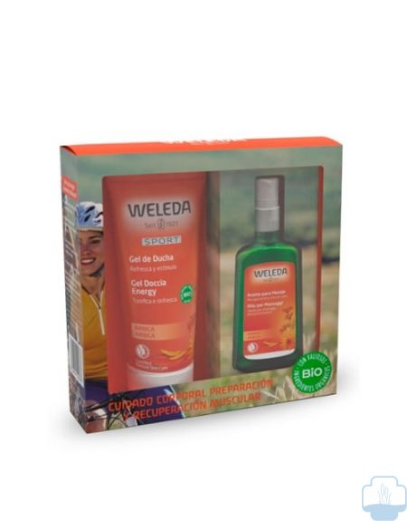 Weleda arnica deportistas pack aceite 100 ml + gel 200 ml