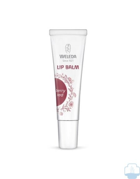 Weleda lip balm red