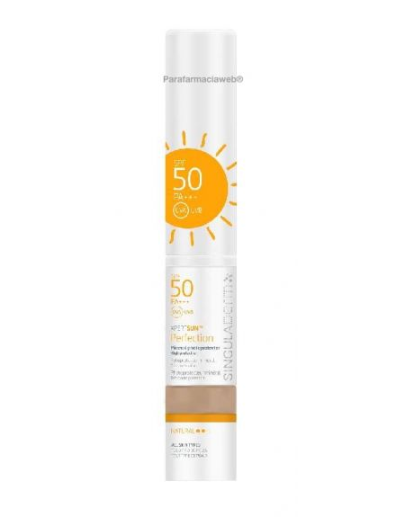 Singuladerm xpert sun perfection brocha bronze