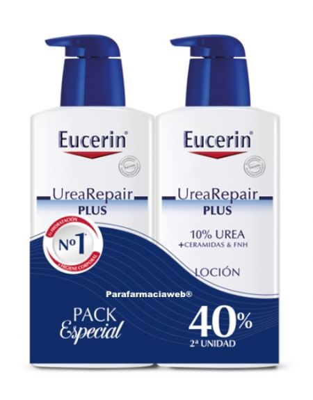 Eucerin urea repair plus locion corporal duplo 2x400ml