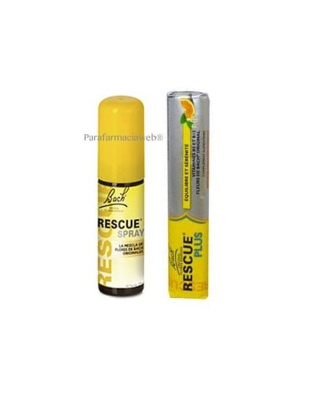 Rescue Flores de Bach spray 20ml + regalo caramelos