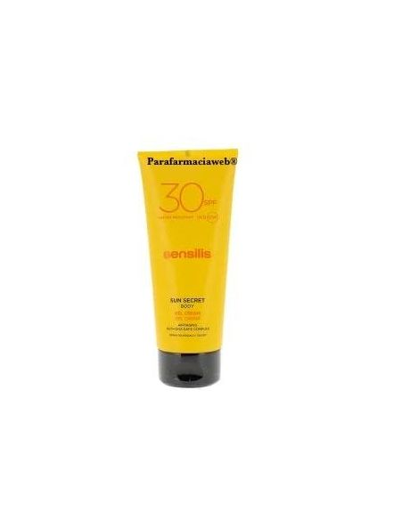 Sensilis sun secret gel crema corporal spf30 200 ml