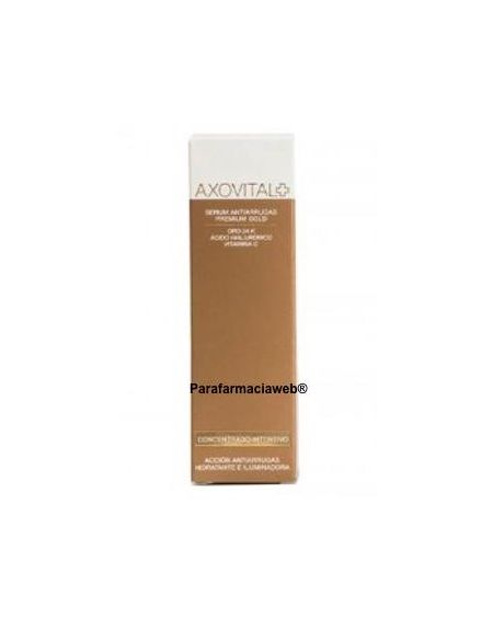 Axovital serum antiarrugas premium gold 30ml