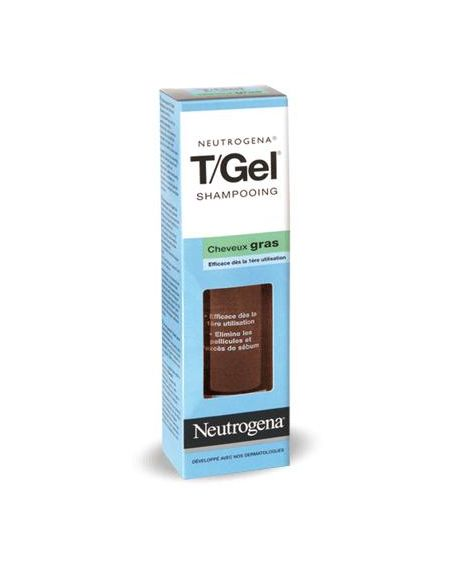 Tgel champu anti-caspa cabello normal graso