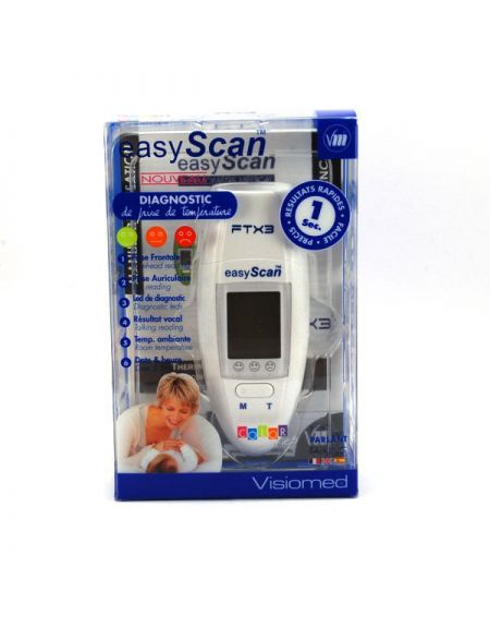 Visiomed temometro medico easy scan