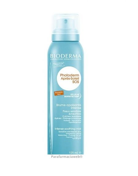 Bioderm photoderm after sun sos spray