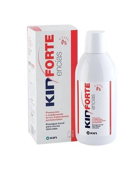 Kin forte encias enjuague bucal 500ml