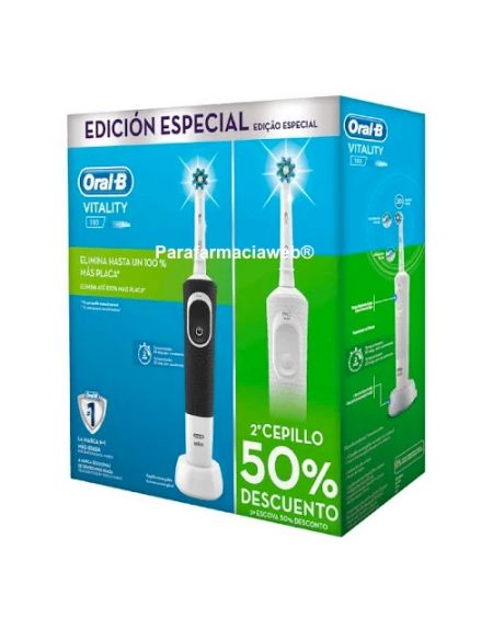 Oral b cepillo electrico vitality cross action pack 2 unidades