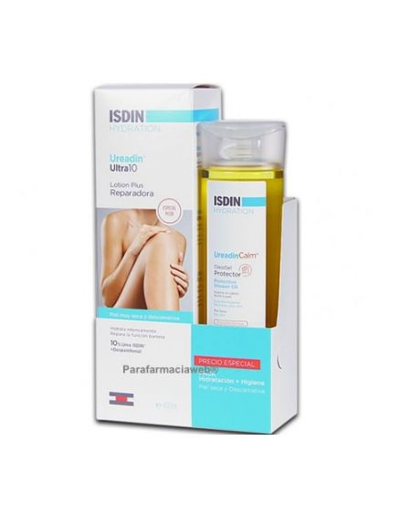 Isdin ureadin ultra10 lotion plus 400ml + regalo oleogel 200ml