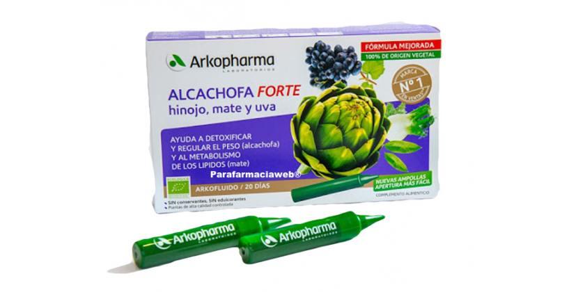 Dieta de la alcachofa de Arkopharma