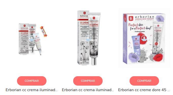 Comprar CC Cream de Erborian - Opiniones de la centella asiática