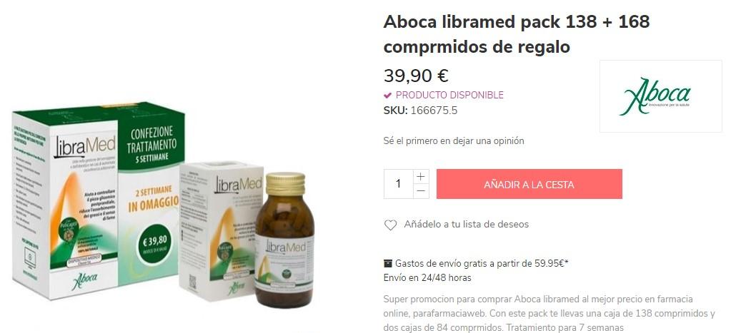 Aboca libramed de farmacia para adelgazar