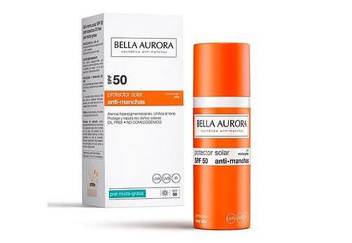 Bella Aurora protector solar facial antimanchas
