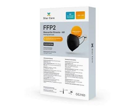En Parafarmaciaweb vendemos las mascarillas FFP2 Star Care al mejor precio
