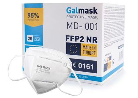 En Parafarmaciaweb vendemos las mascarillas FFP2 Galmask al mejor precio