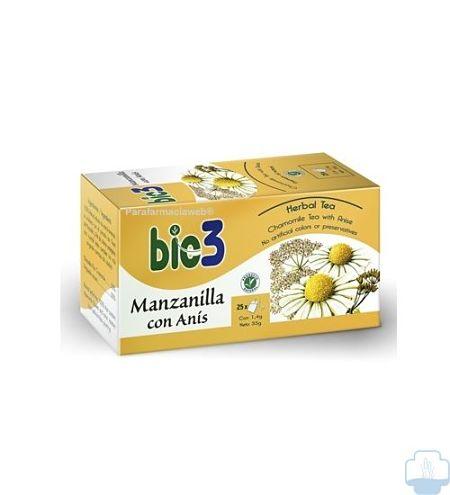 Infusion digestiva Bio3 Manzanilla con Anis