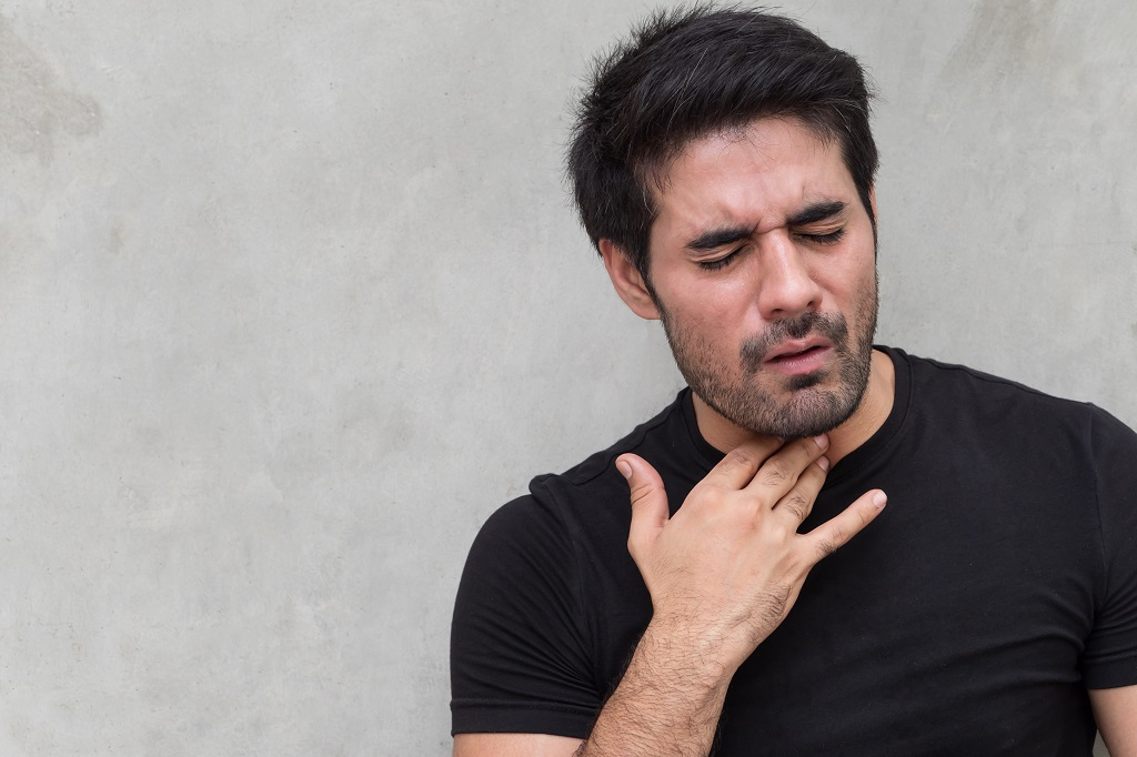 Eliminar flema en la garganta permanente